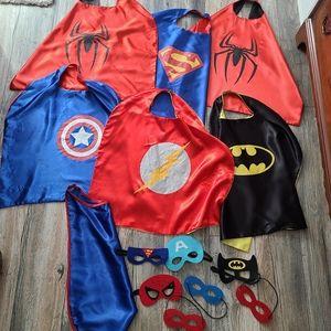 Kids Super Hero Cape Lot